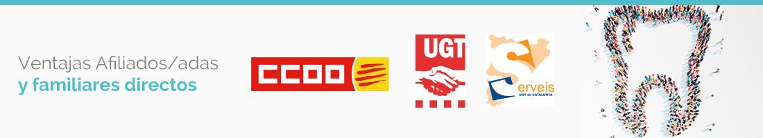 Condiciones especiales UGT y CCOO