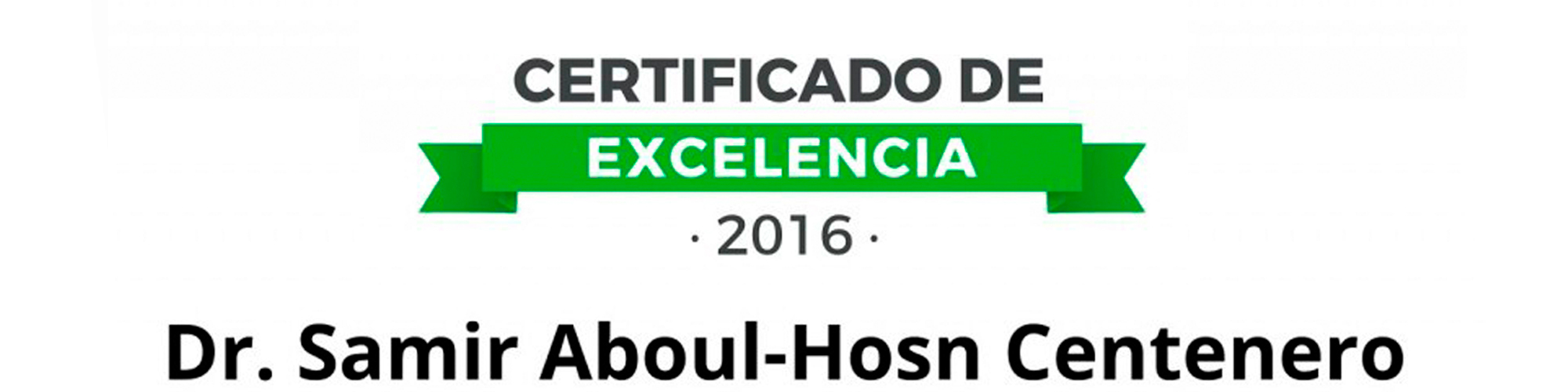 certificat excelencia clinic adental